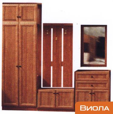 корпусная мебель ВИОЛА. Мебель для прихожей. Наборы корпусной мебели Виола